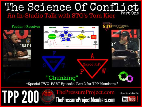 TPP 200: THE SCIENCE OF CONFLICT – AN IN-STUDIO TALK WITH STG'S TOM KIER – PART 1