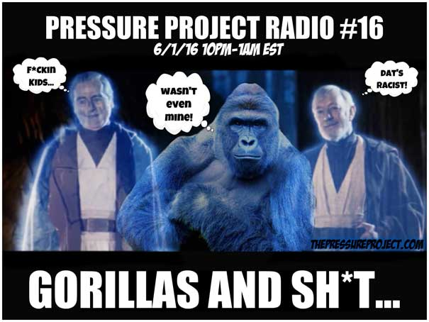 PPR 16: GORILLAS AND SHIT
