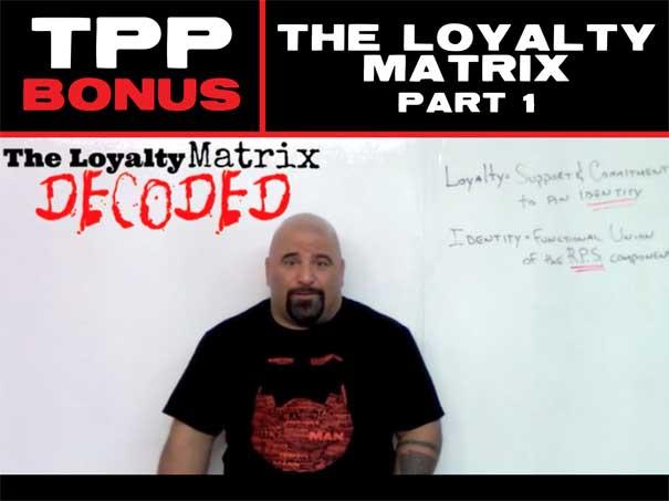 The Loyalty Matrix