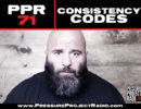PPR 71: CONSISTENCY CODES
